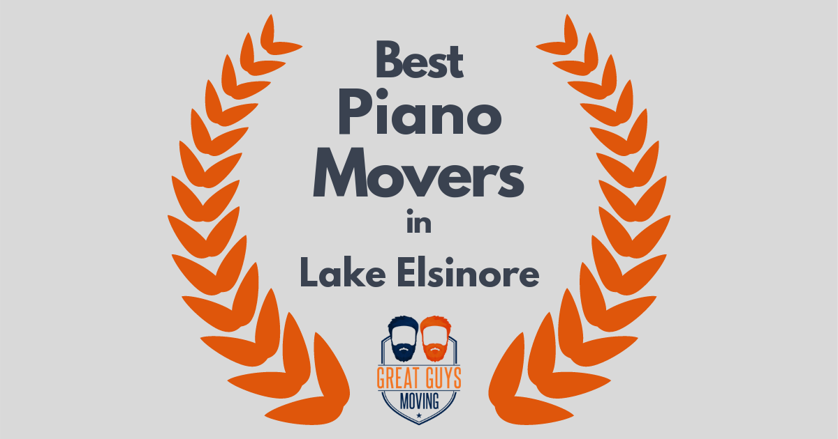 Best Piano Movers in Lake Elsinore, CA