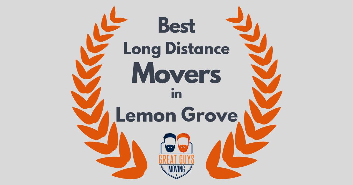 Best Long Distance Movers in Lemon Grove, CA