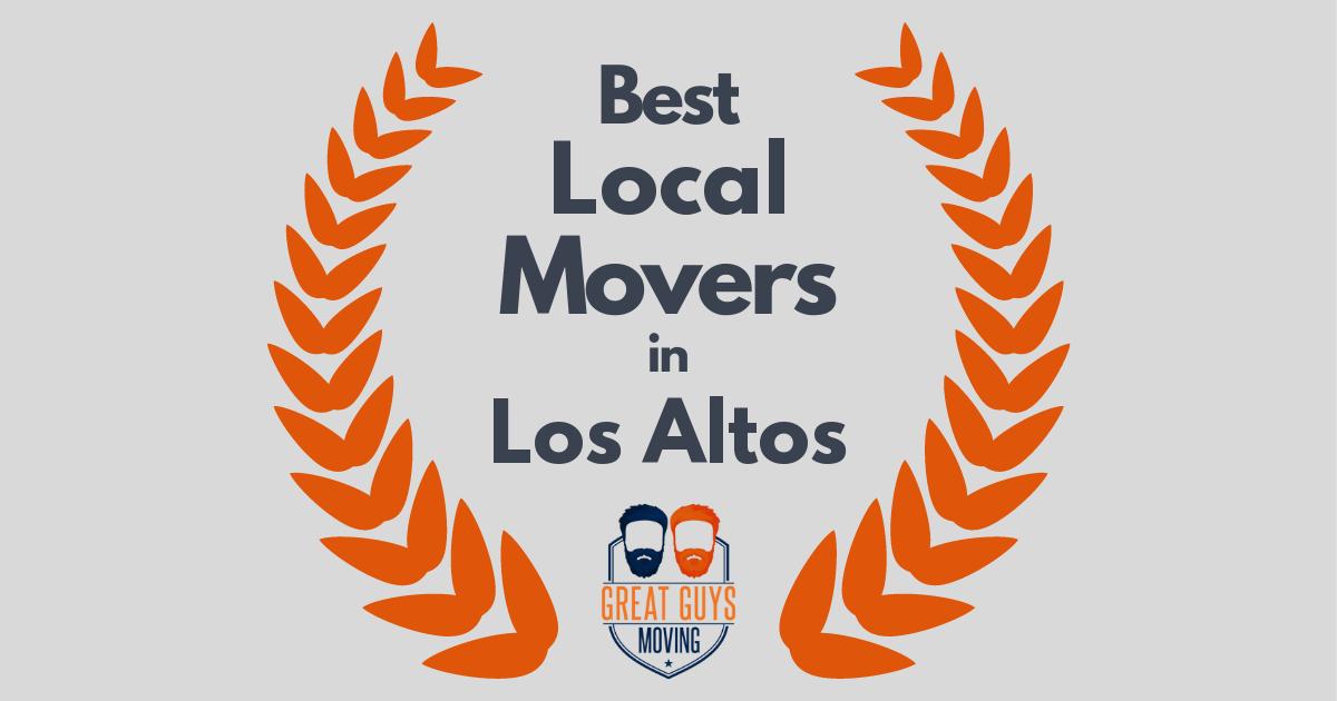 Best Local Movers in Los Altos, CA