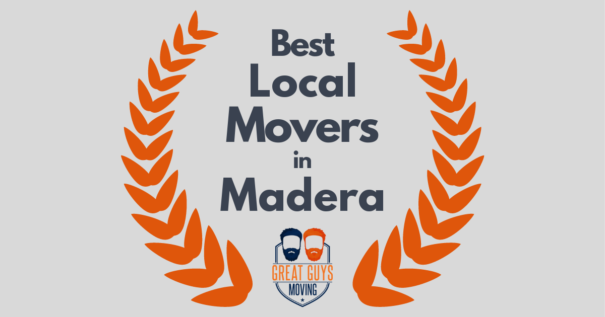 Best Local Movers in Madera, CA
