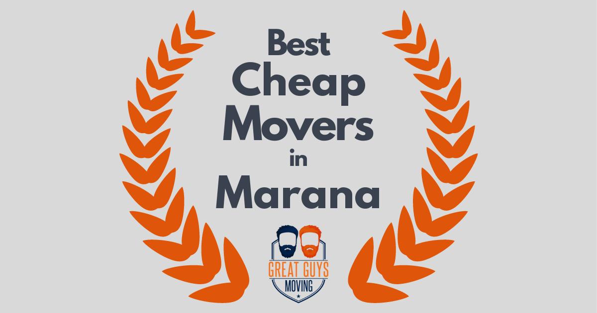 Best Cheap Movers in Marana, AZ
