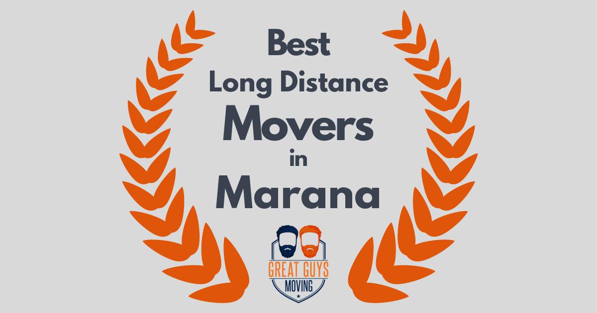 Best Long Distance Movers in Marana, AZ