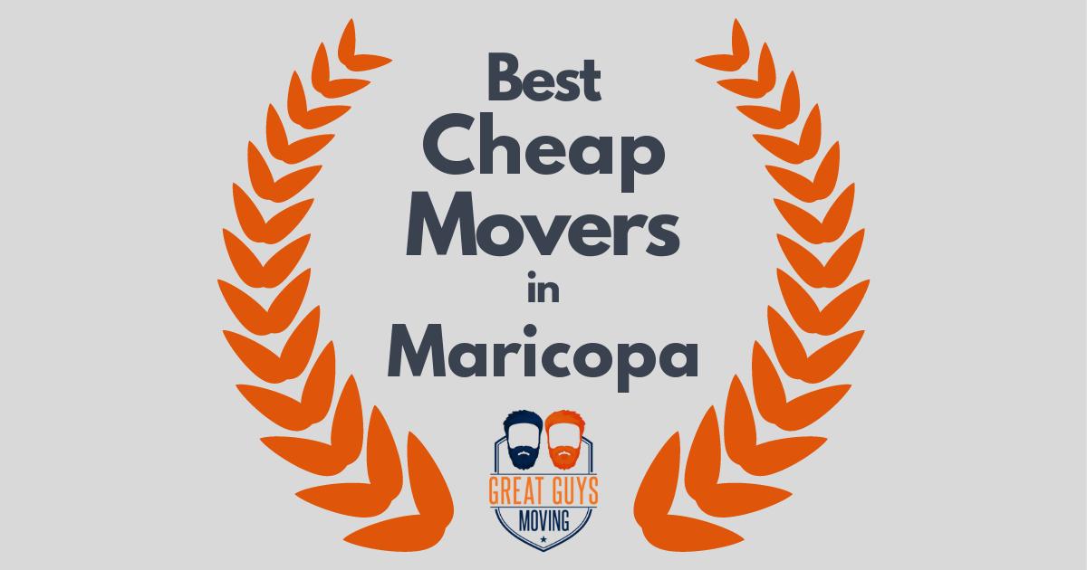 Best Cheap Movers in Maricopa, AZ