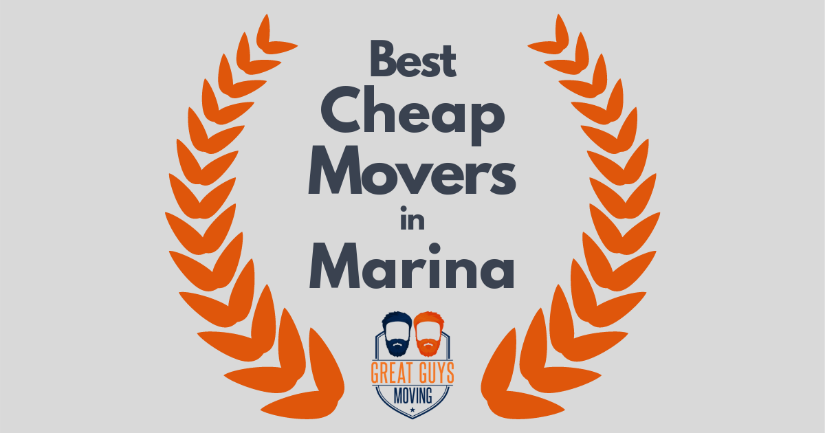 Best Cheap Movers in Marina, CA