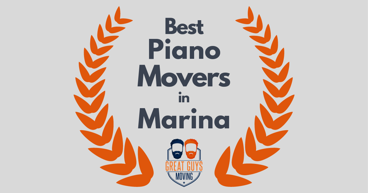 Best Piano Movers in Marina, CA