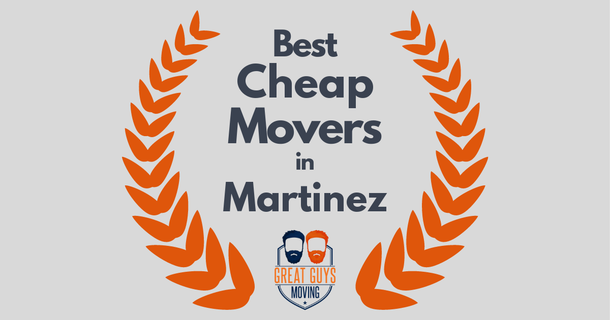 Best Cheap Movers in Martinez, CA