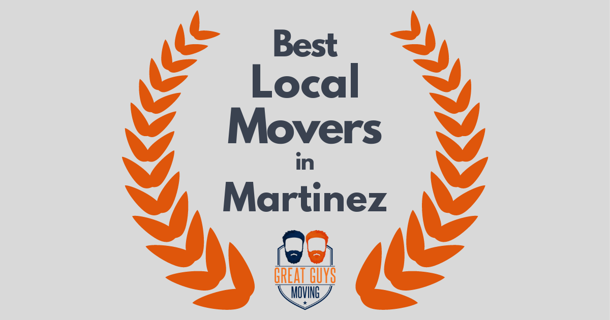 Best Local Movers in Martinez, CA