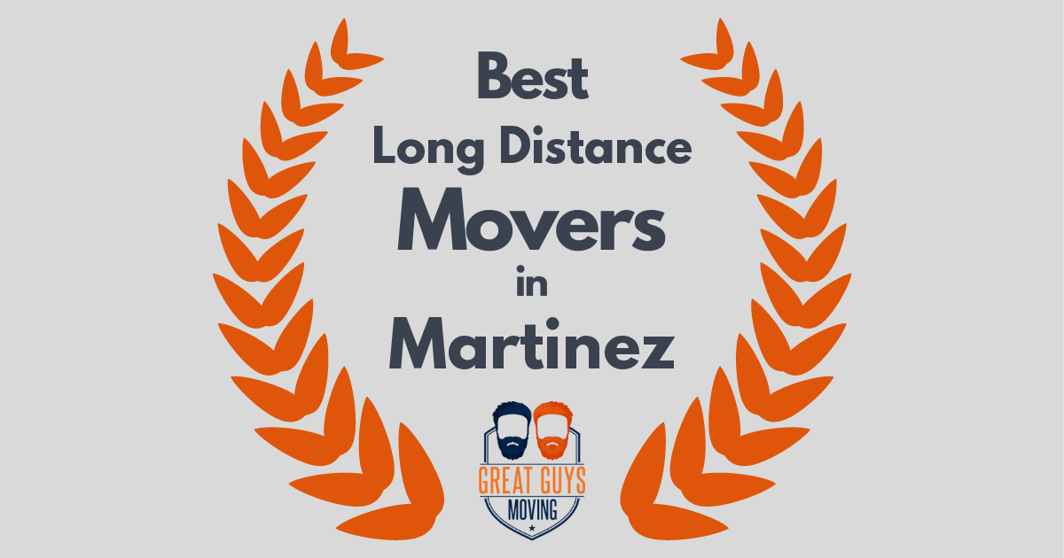 Best Long Distance Movers in Martinez, CA