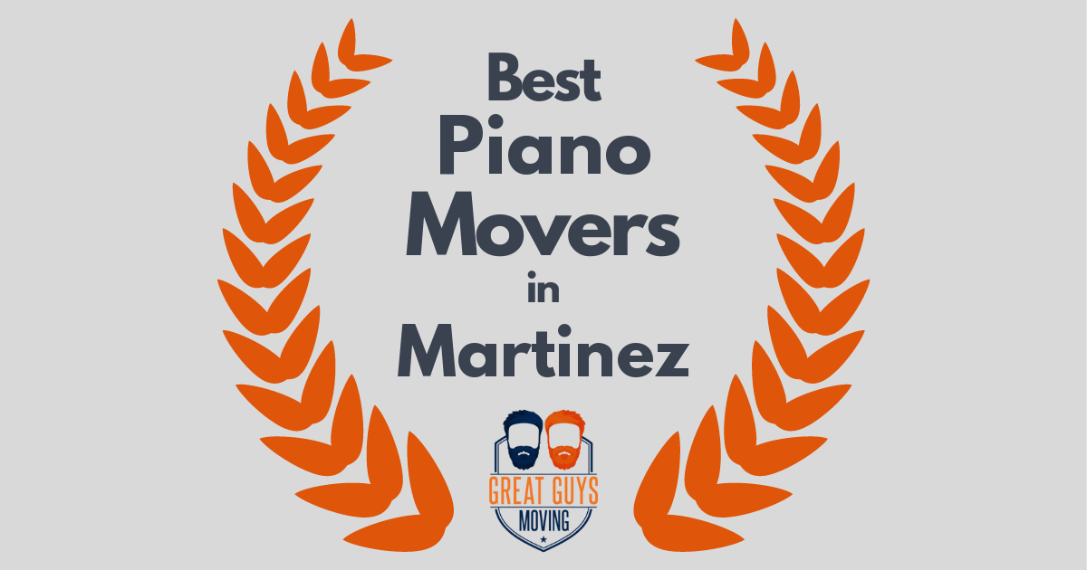 Best Piano Movers in Martinez, CA