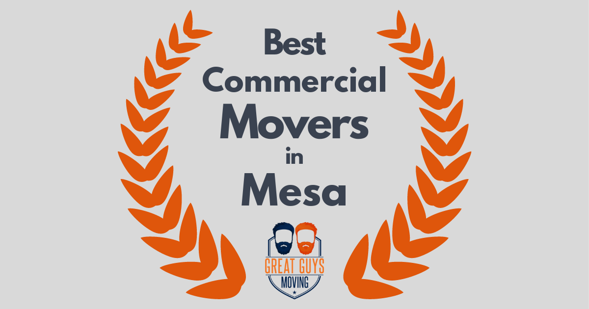 Best Commercial Movers in Mesa, AZ