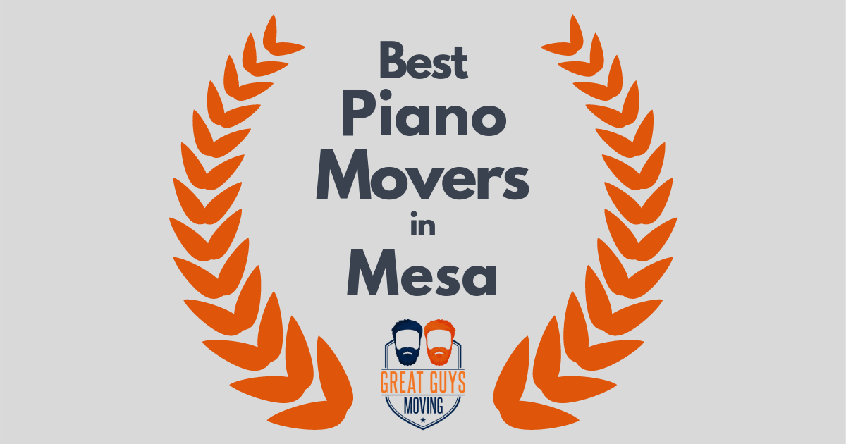 Best Piano Movers in Mesa, AZ
