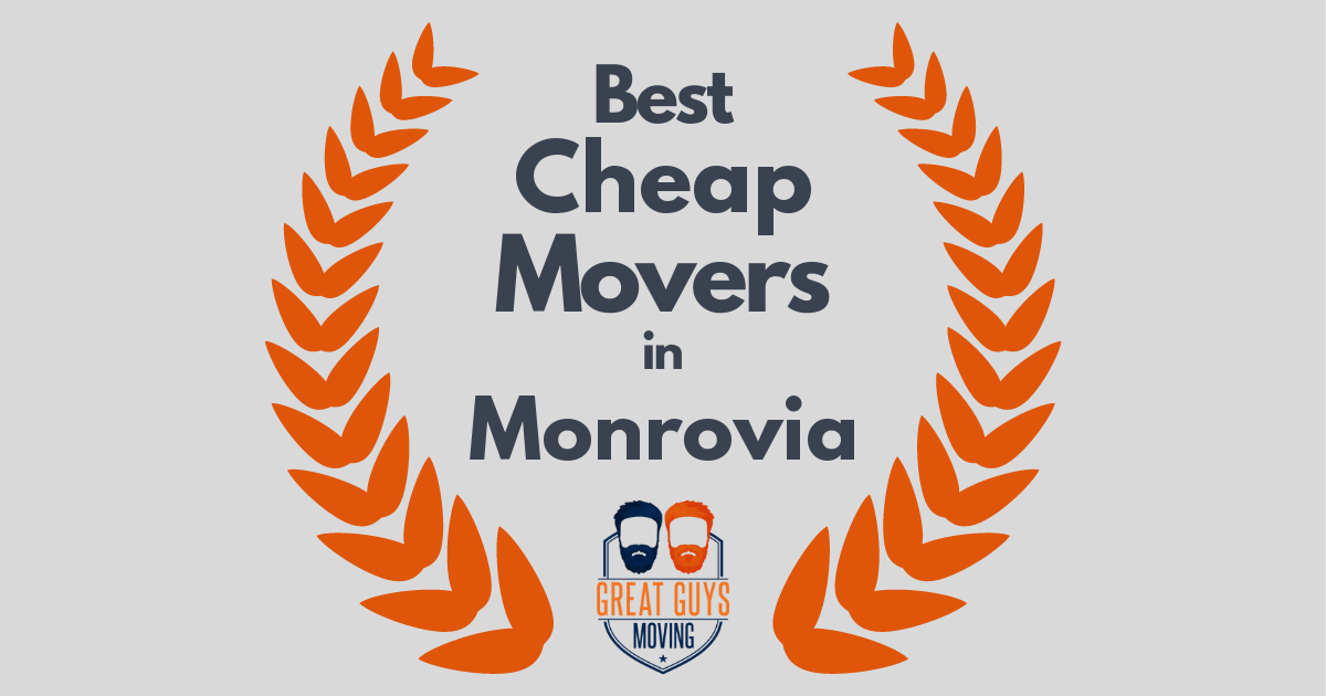 Best Cheap Movers in Monrovia, CA
