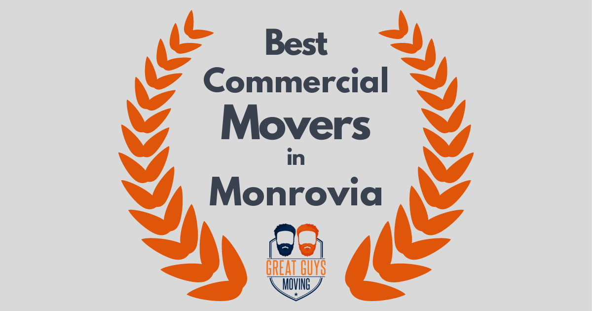 Best Commercial Movers in Monrovia, CA