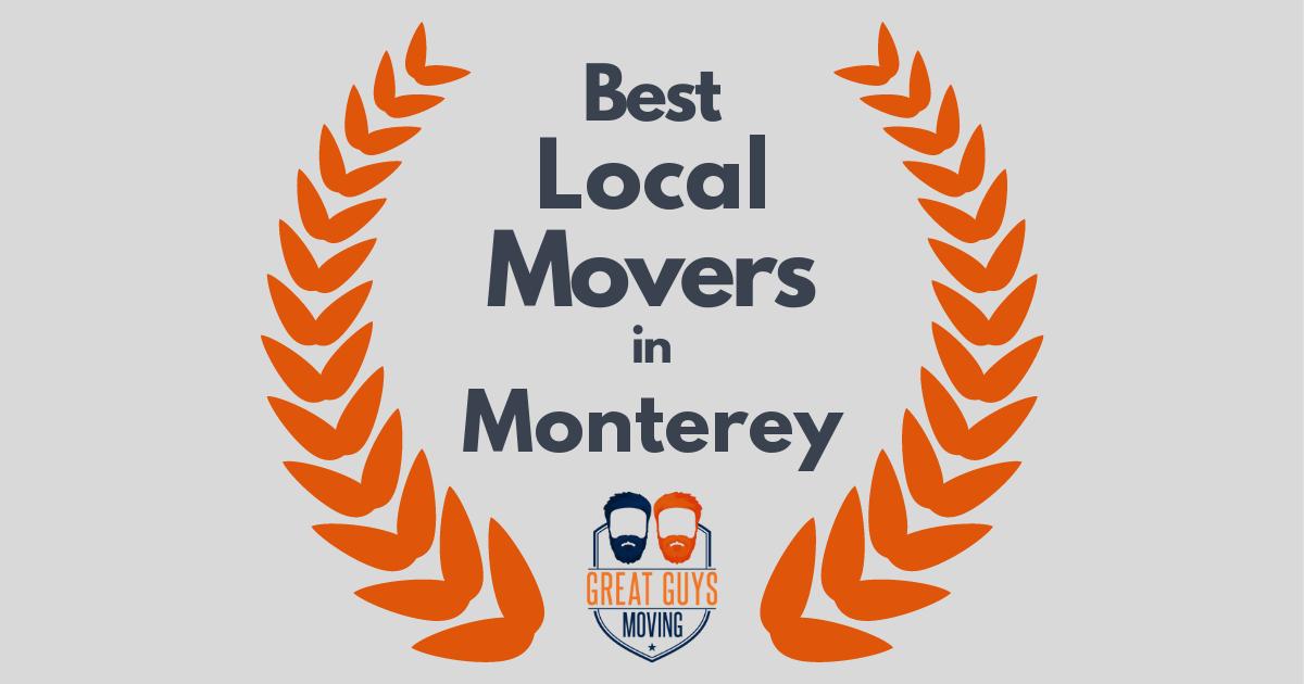 Best Local Movers in Monterey, CA