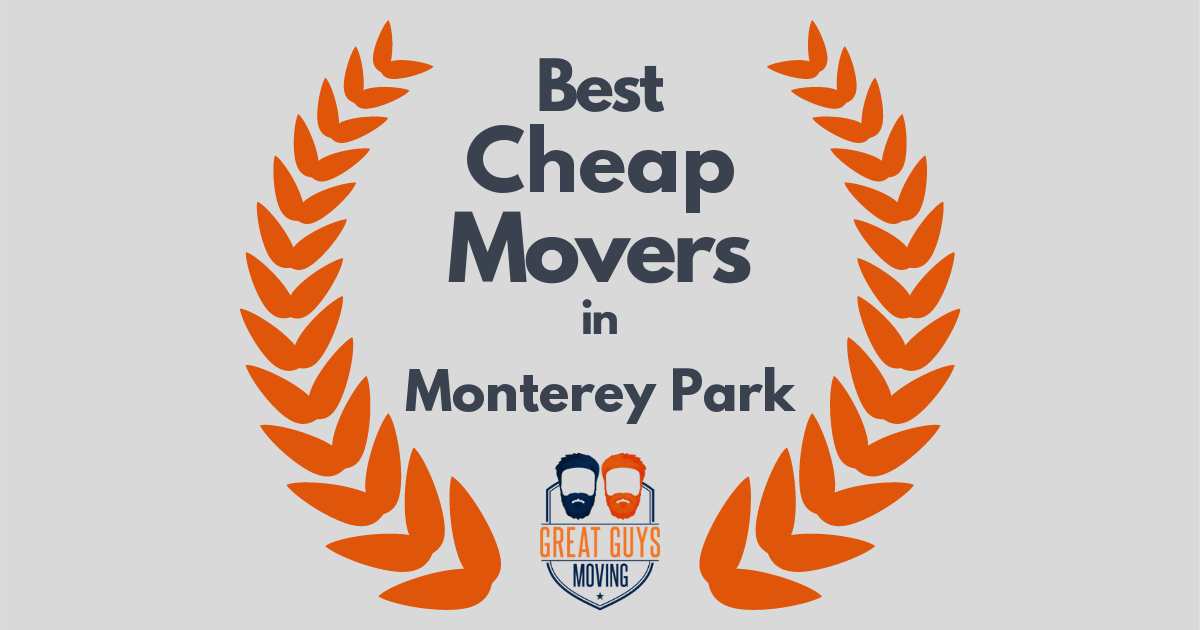 Best Cheap Movers in Monterey Park, CA