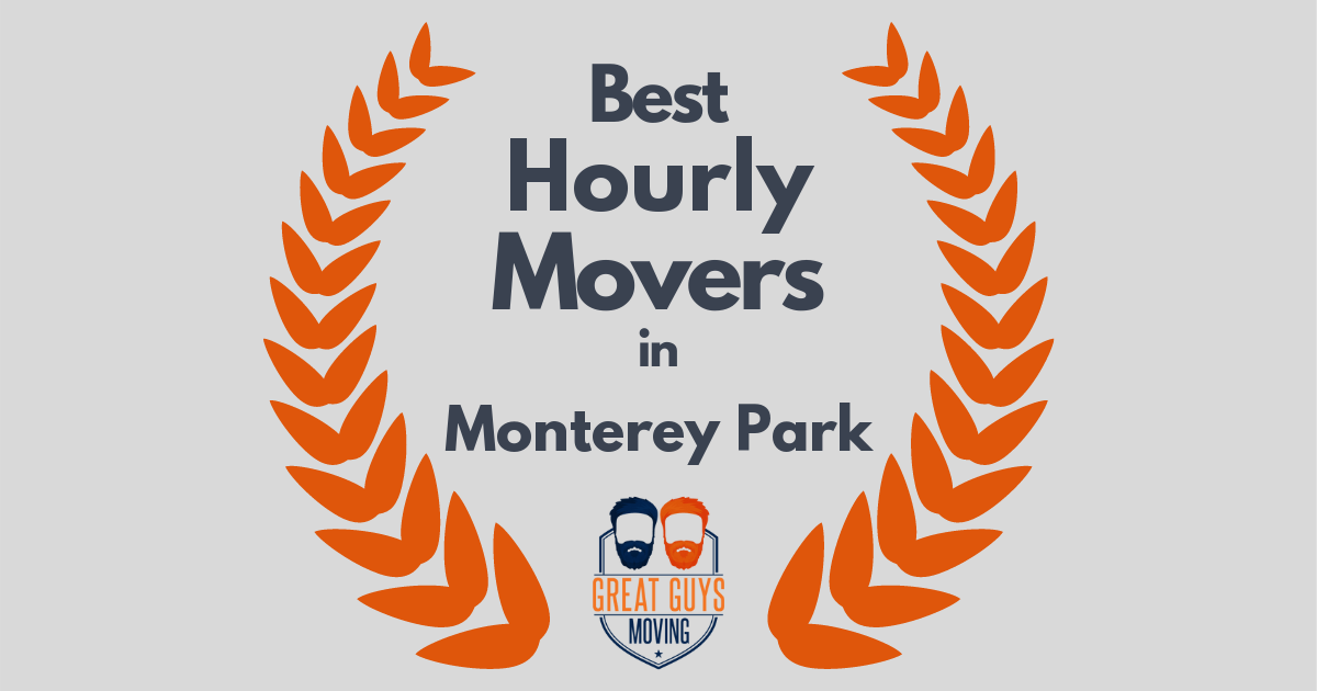 Best Hourly Movers in Monterey Park, CA