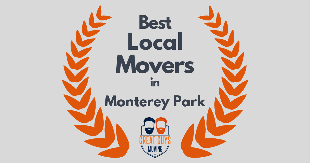 Best Local Movers in Monterey Park, CA