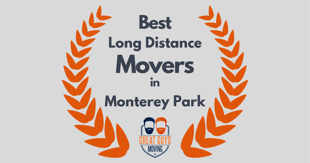 Best Long Distance Movers in Monterey Park, CA