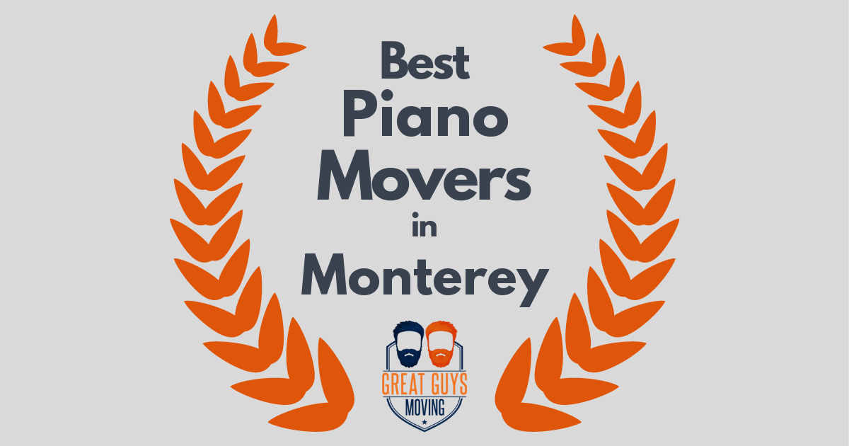 Best Piano Movers in Monterey, CA