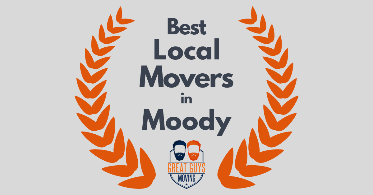 Best Local Movers in Moody, AL