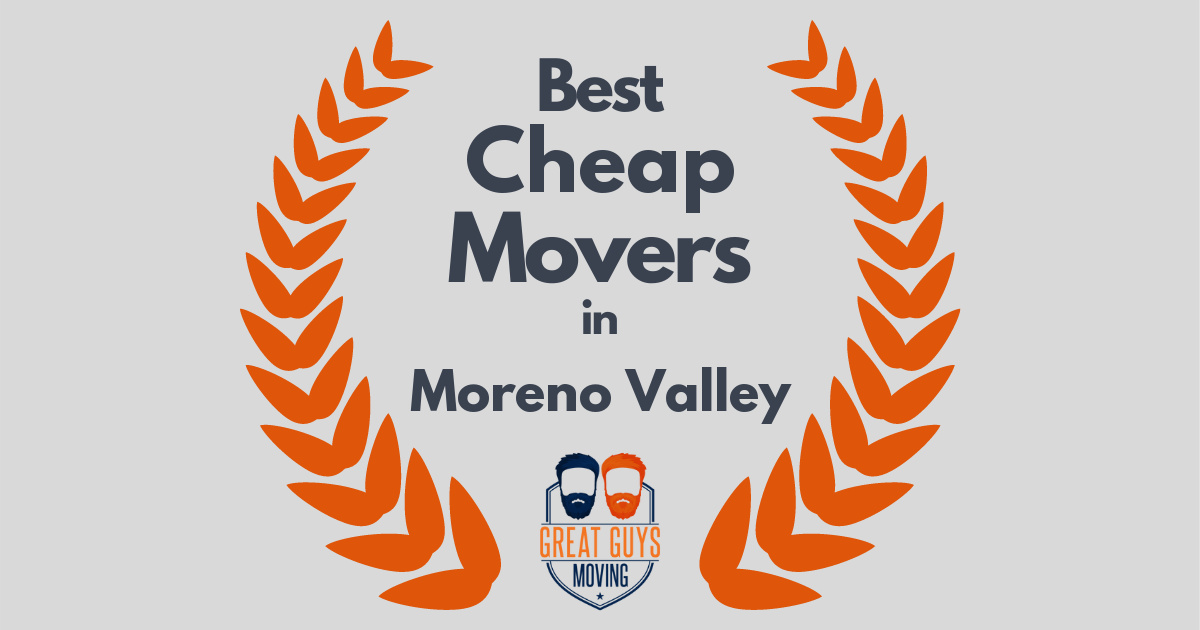 Best Cheap Movers in Moreno Valley, CA