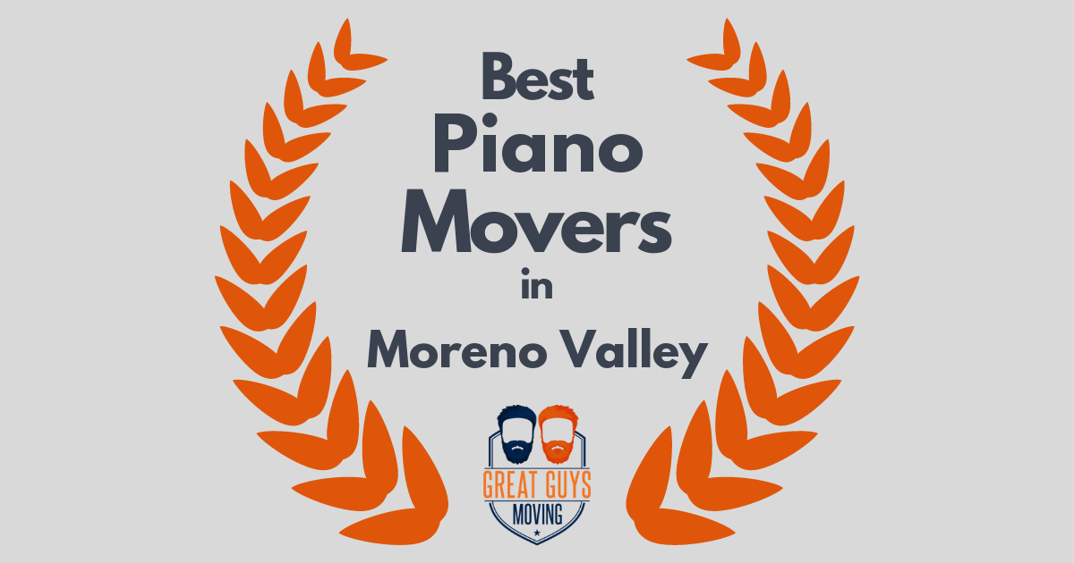 Best Piano Movers in Moreno Valley, CA