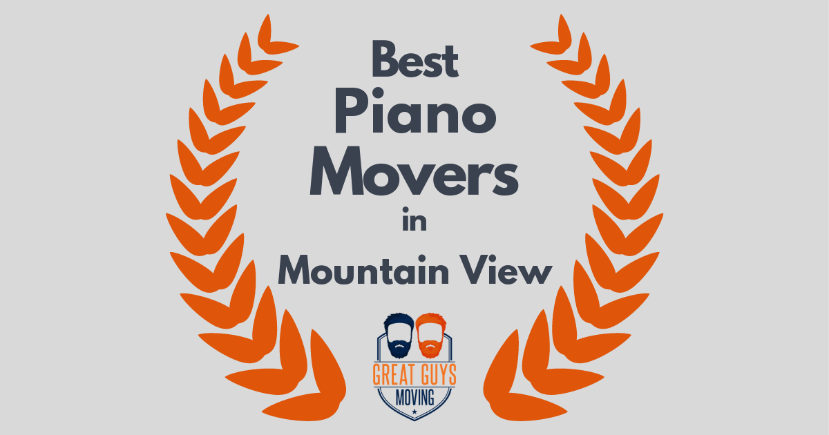 Best Piano Movers in Mountain View, CA