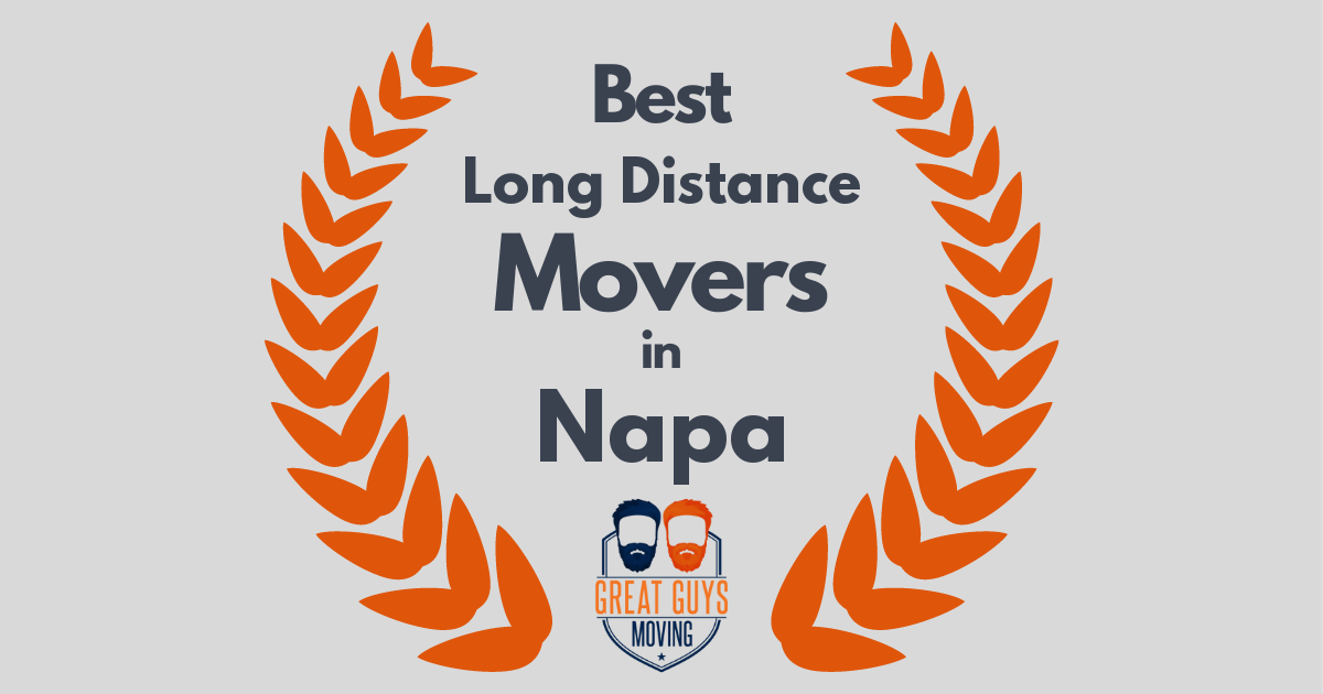 Best Long Distance Movers in Napa, CA