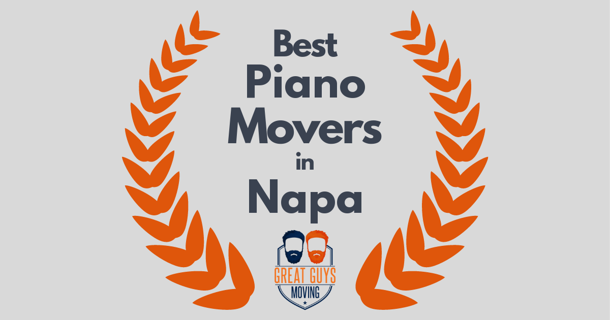 Best Piano Movers in Napa, CA