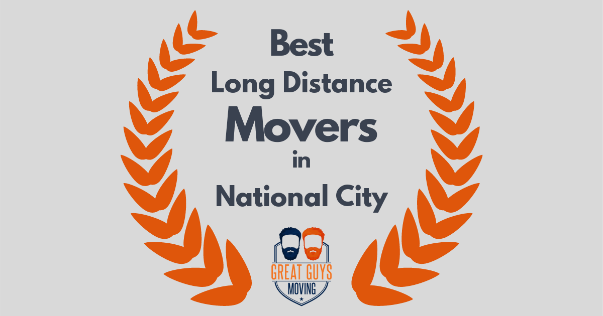 Best Long Distance Movers in National City, CA