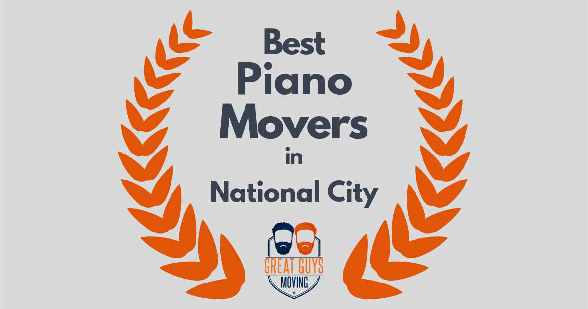 Best Piano Movers in National City, CA