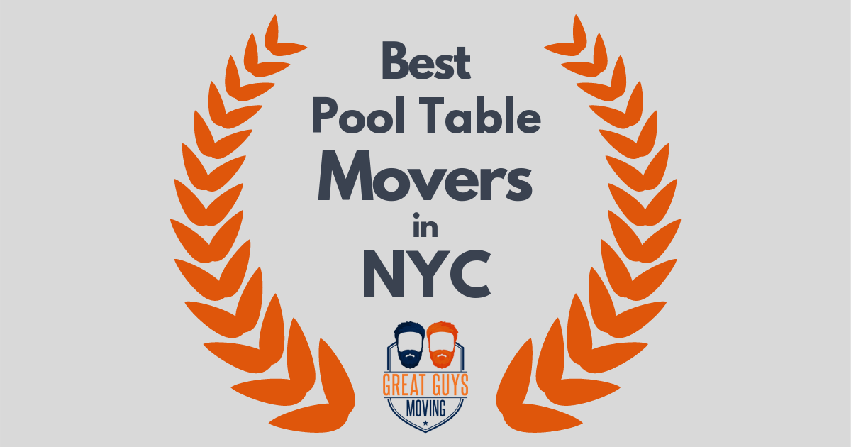 Best Pool Table Movers in New York City, NY