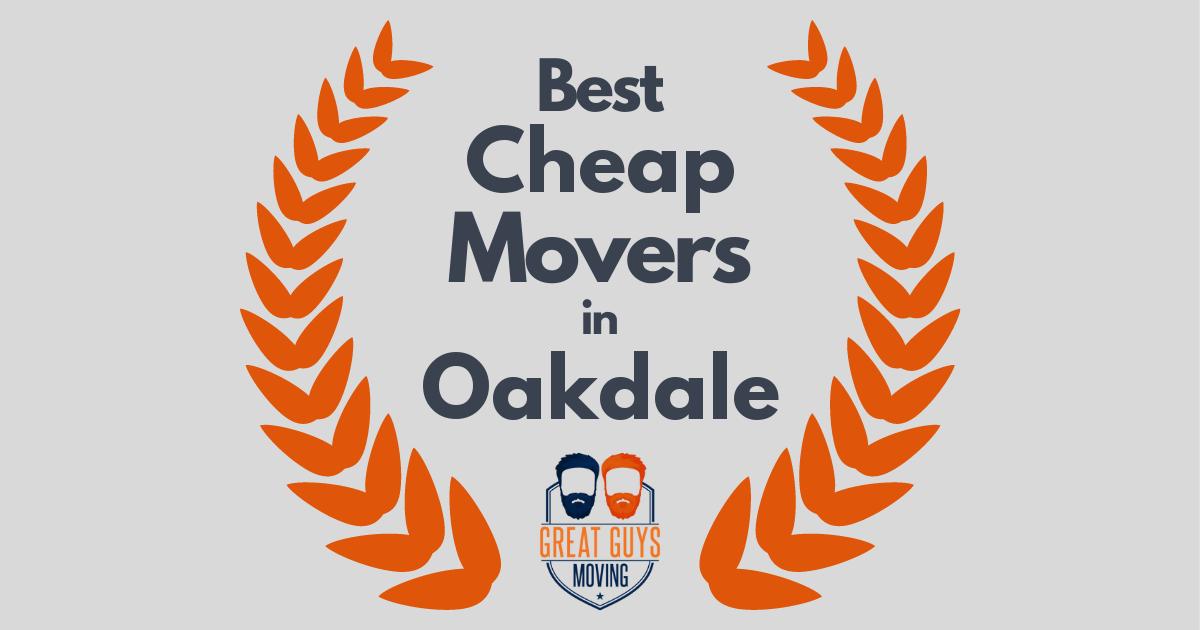 Best Cheap Movers in Oakdale, CA