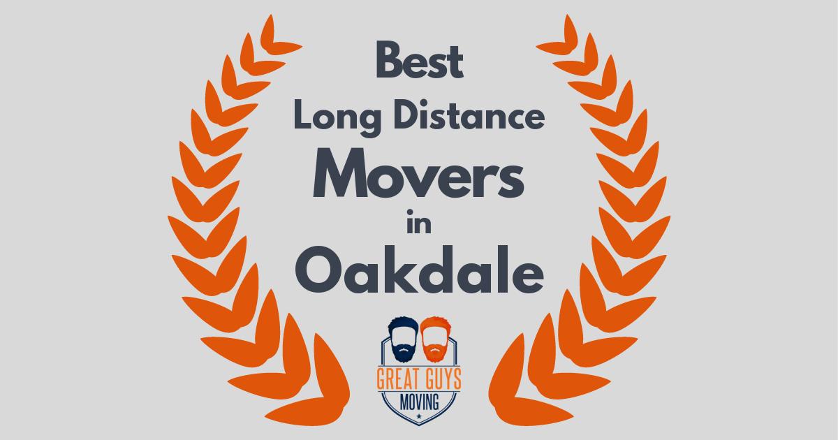 Best Long Distance Movers in Oakdale, CA