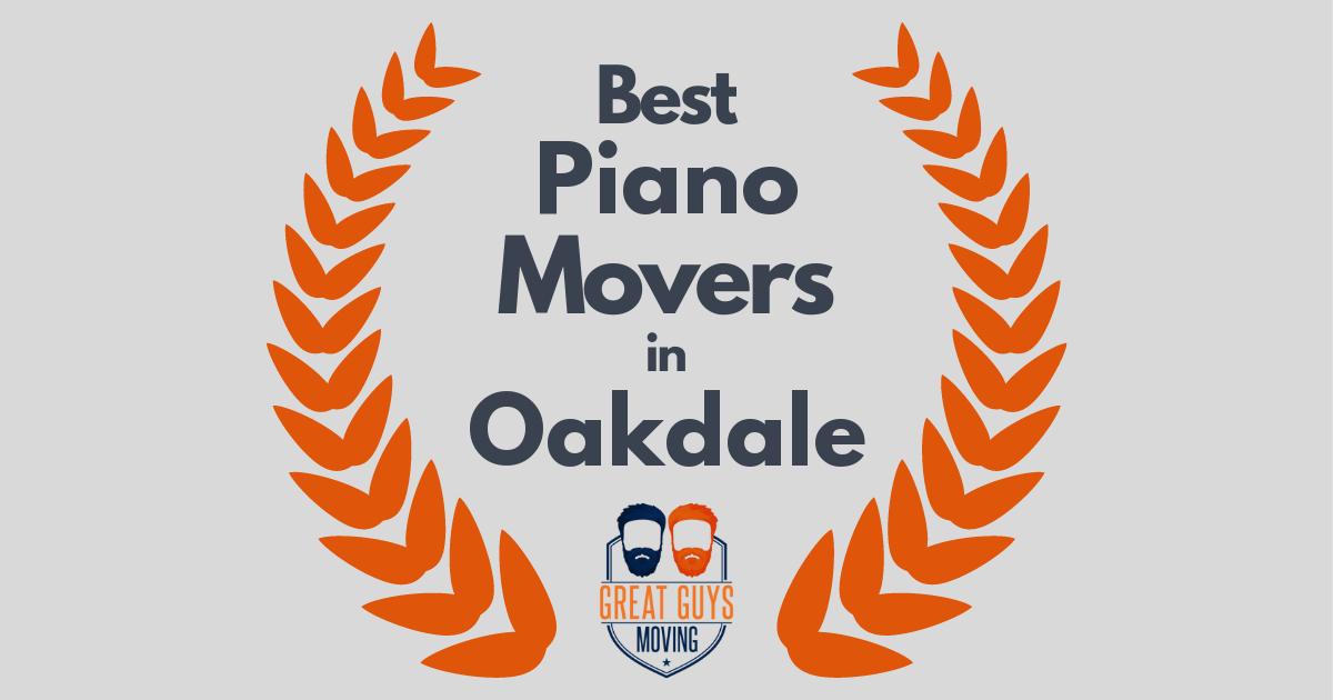 Best Piano Movers in Oakdale, CA