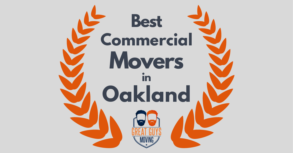 Best Commercial Movers in Oakland, CA