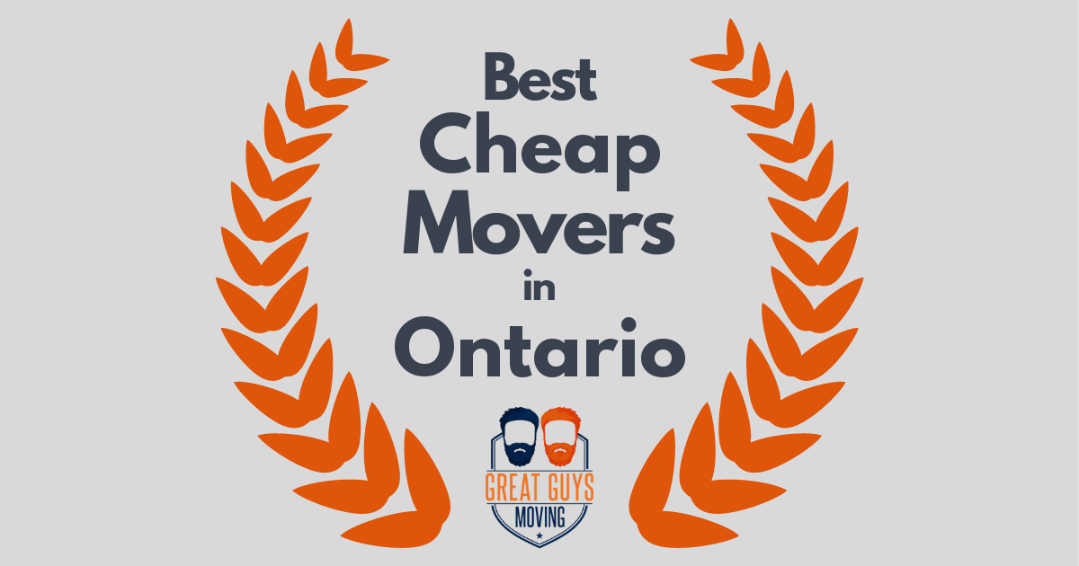 Best Cheap Movers in Ontario, CA