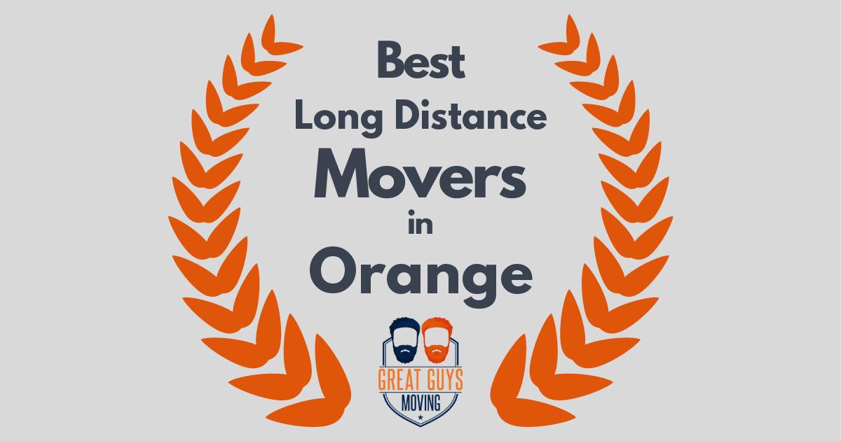 Best Long Distance Movers in Orange, CA