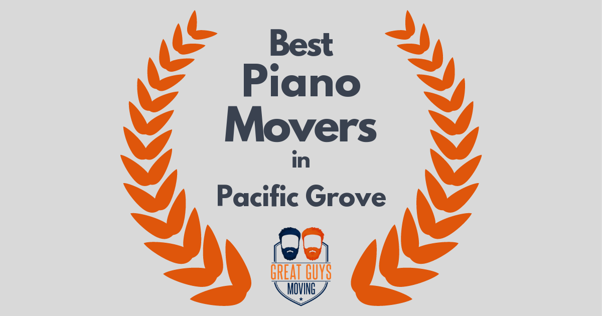 Best Piano Movers in Pacific Grove, CA