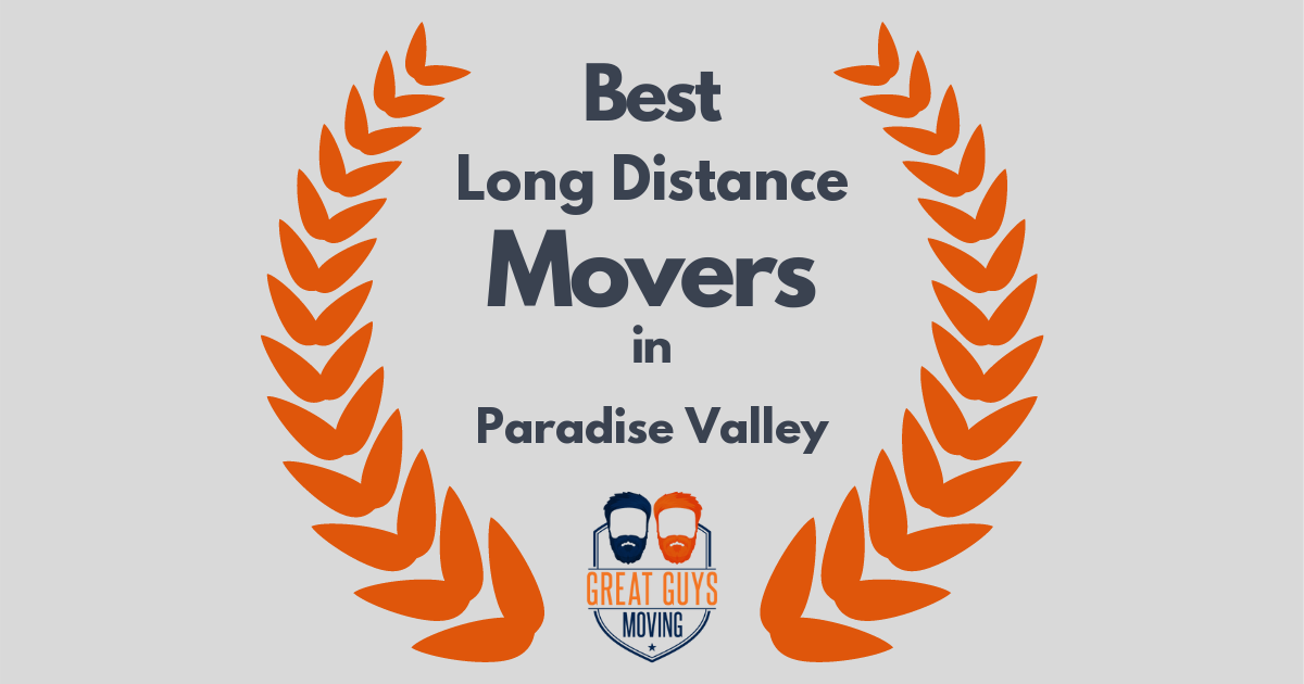 Best Long Distance Movers in Paradise Valley, AZ