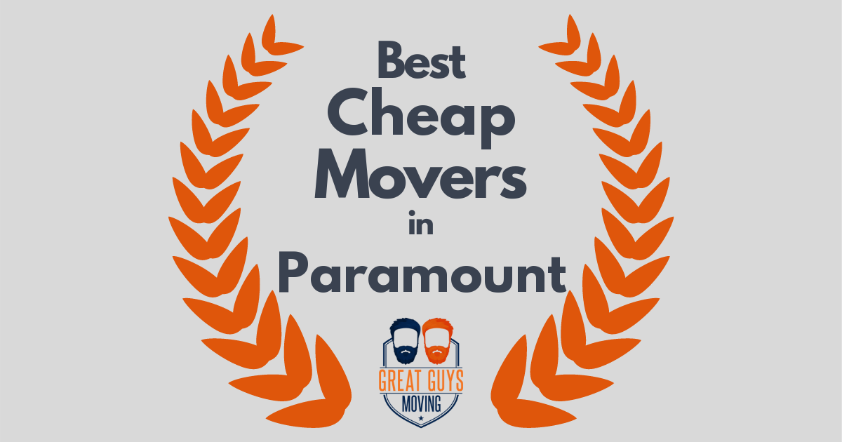 Best Cheap Movers in Paramount, CA