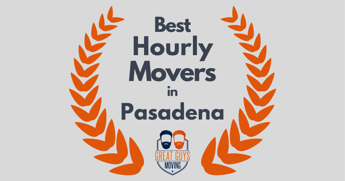 Best Hourly Movers in Pasadena, CA