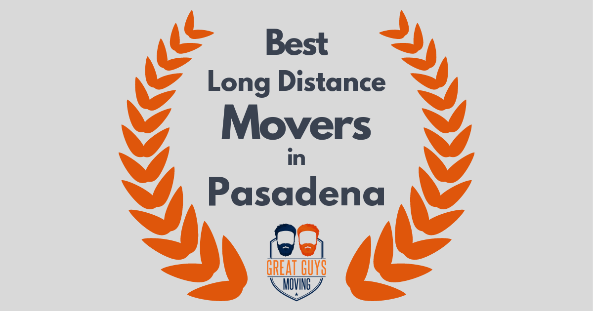 Best Long Distance Movers in Pasadena, CA