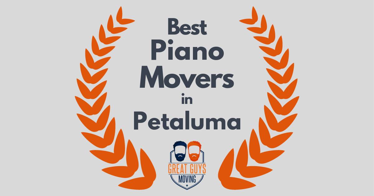 Best Piano Movers in Petaluma, CA