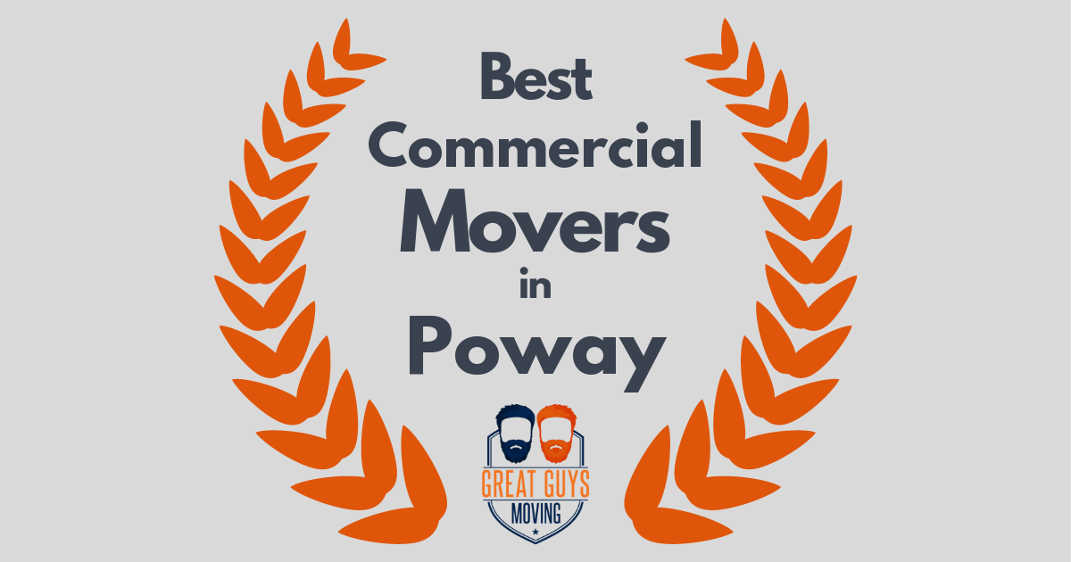 Best Commercial Movers in Poway, CA