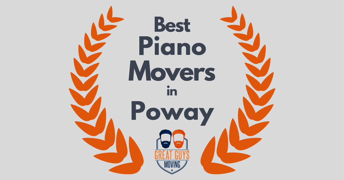 Best Piano Movers in Poway, CA