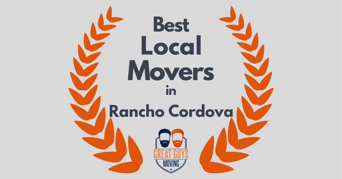 Best Local Movers in Rancho Cordova, CA