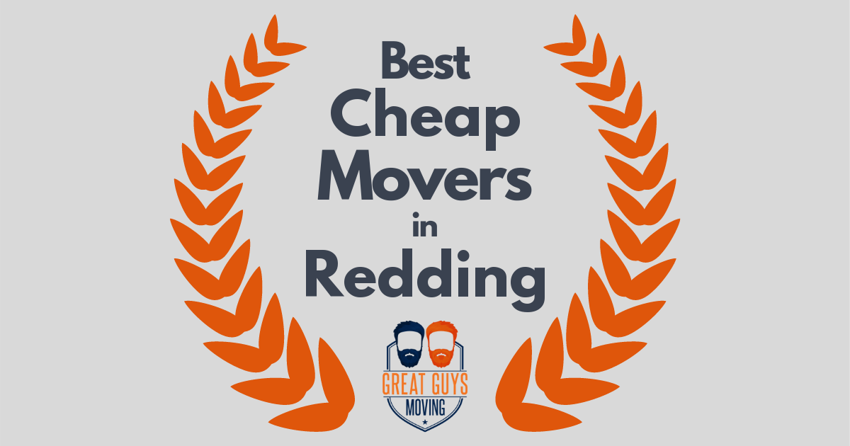 Best Cheap Movers in Redding, CA