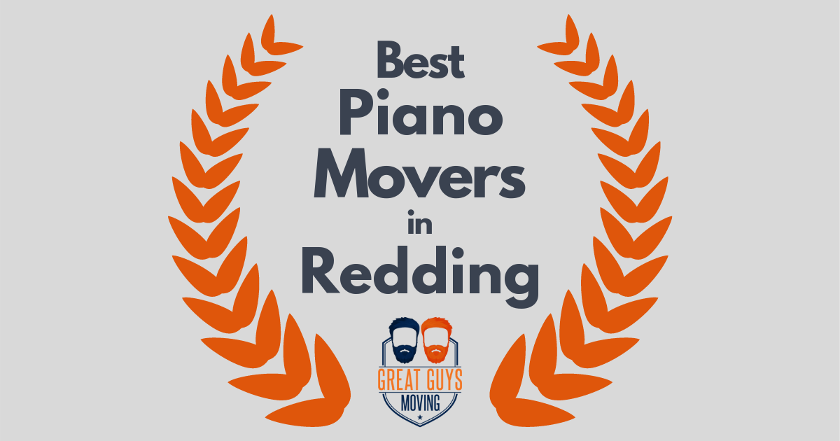 Best Piano Movers in Redding, CA