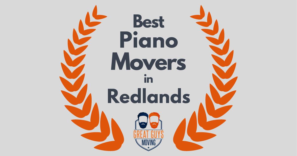Best Piano Movers in Redlands, CA